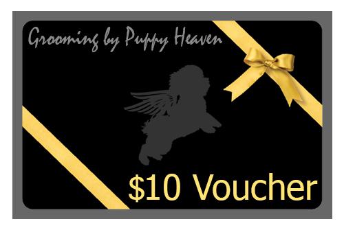 Puppy Heaven - $10 Voucher