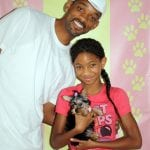 Puppy Heaven - Actor Will Smith With His Daughter Willow