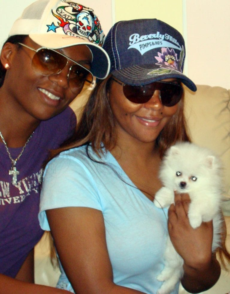 Puppy Heaven - Singer Lil' Kim Puppy